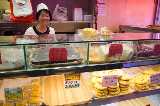 Bakery in Chinatown