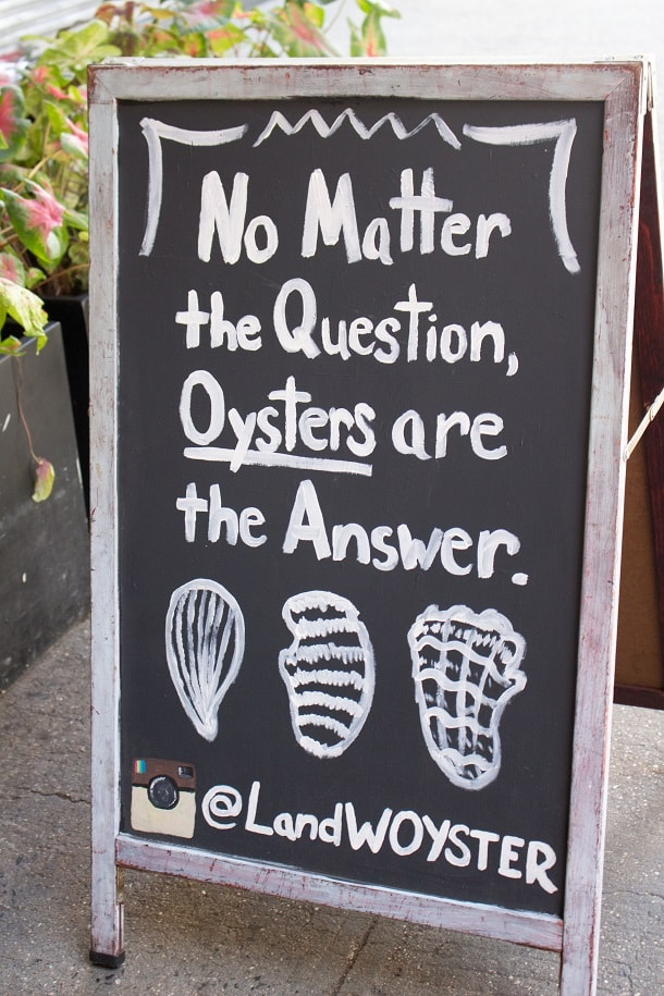 Is Santa real? Oysters!