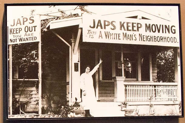 Japs keep moving - This is a white man's neighborhood