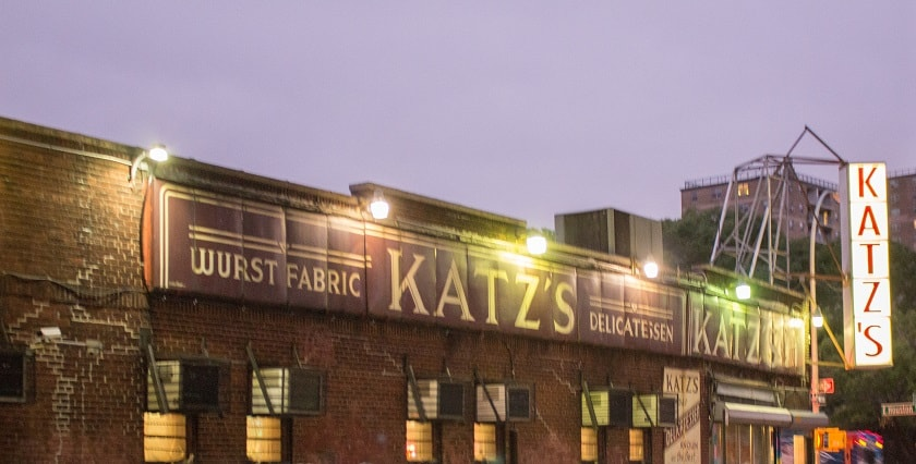 Katz's Delicatessen Sign
