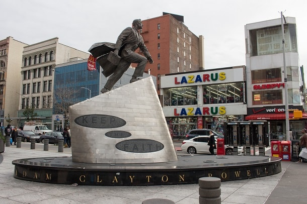 Monument to Adam Clayton Powell