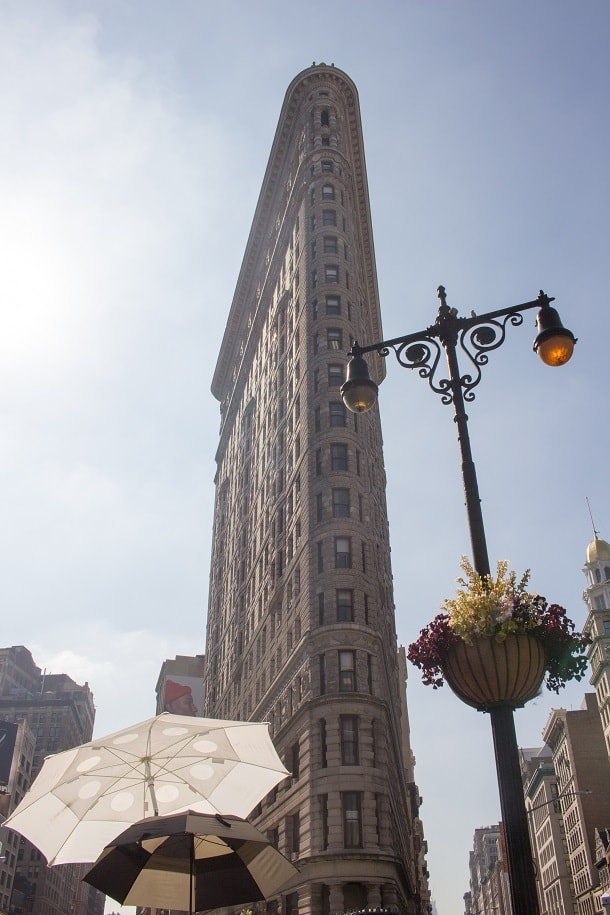 Photo shoot at Flatiron Building