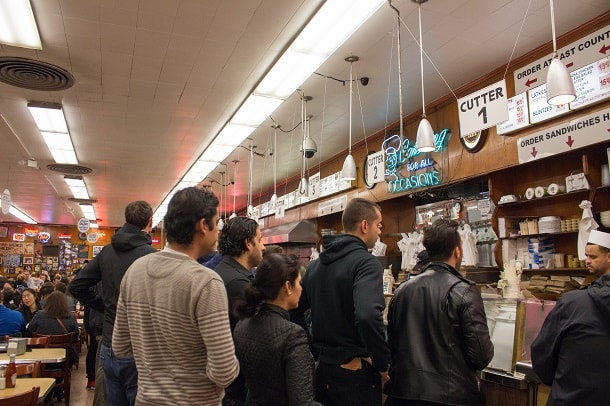 Queuing in Katz's