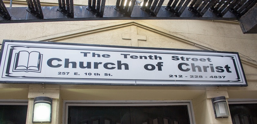 The Tenth Street Church of Christ