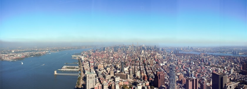 View over Manhattan