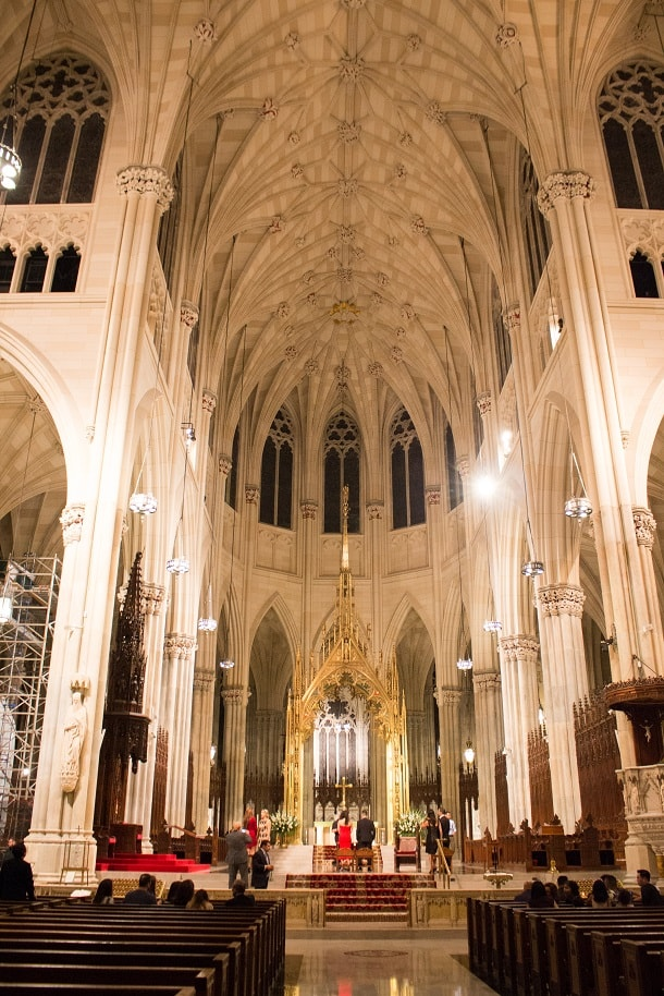 Wedding in St. Patrick's Cathedral