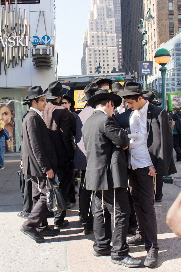 Young Orthodox Jews