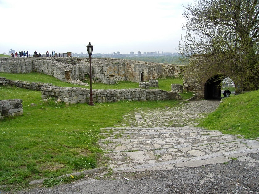 At the Belgrade Fortress