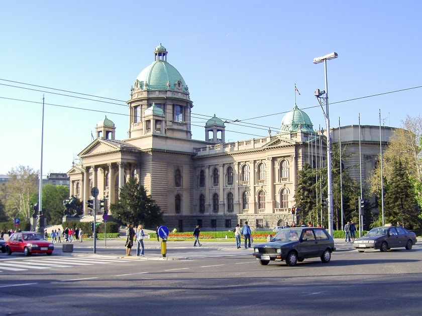 The Serbian National Assembly