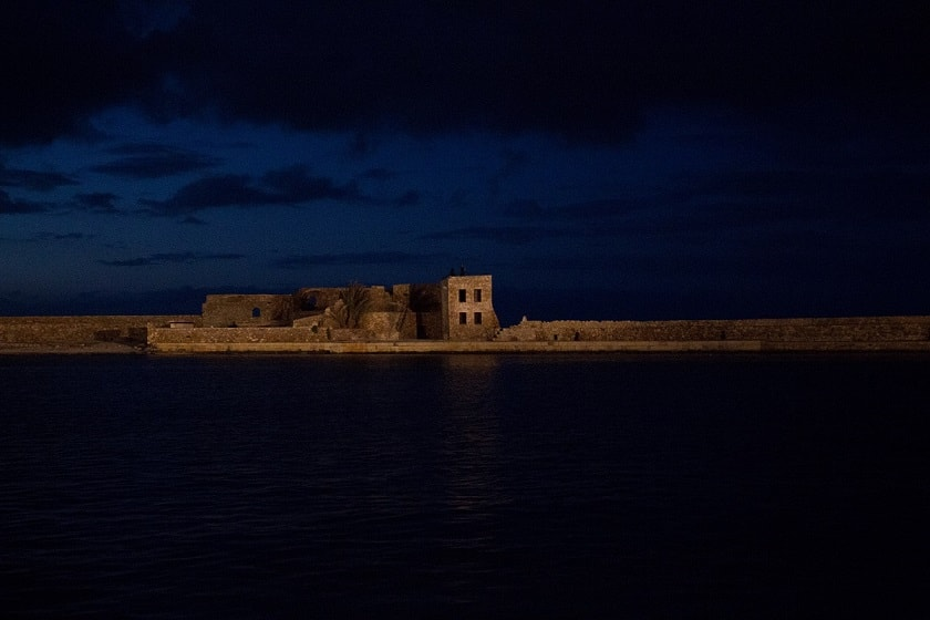 Venetian fortification of Chania Harbour