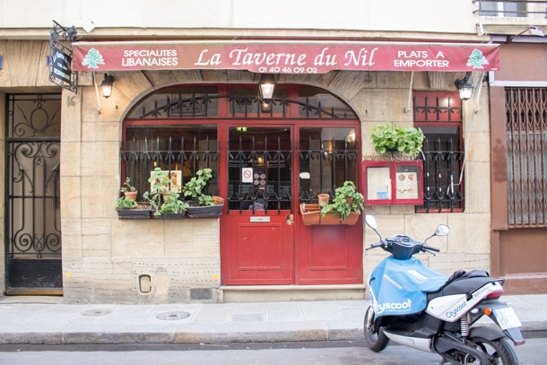 La Taverna du Nil at Île Saint-Louis