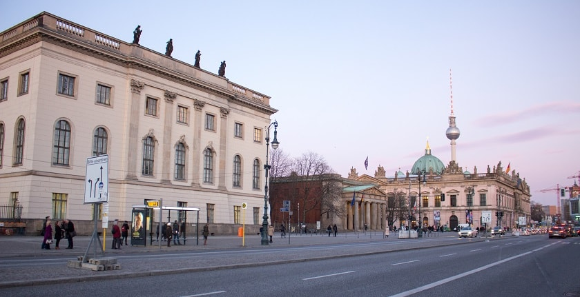 Humboldt Universität and Neue Wache