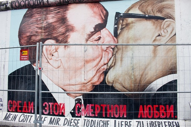 Segment of the East Side Gallery