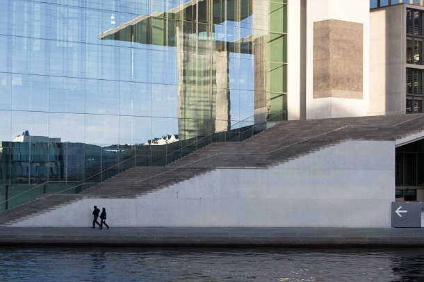 The Stairs of Marie-Elisabeth-Lüders-Haus