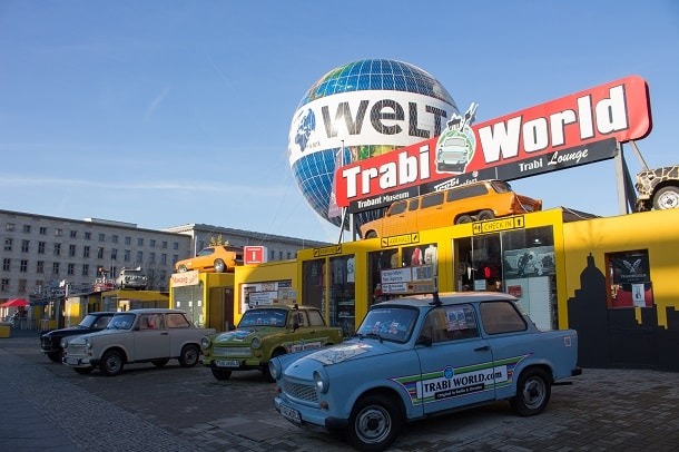 Trabant Cars of DDR at Trabi World